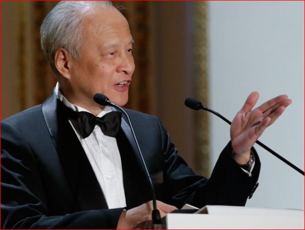 美国政府准备驱逐中国大使崔天凯