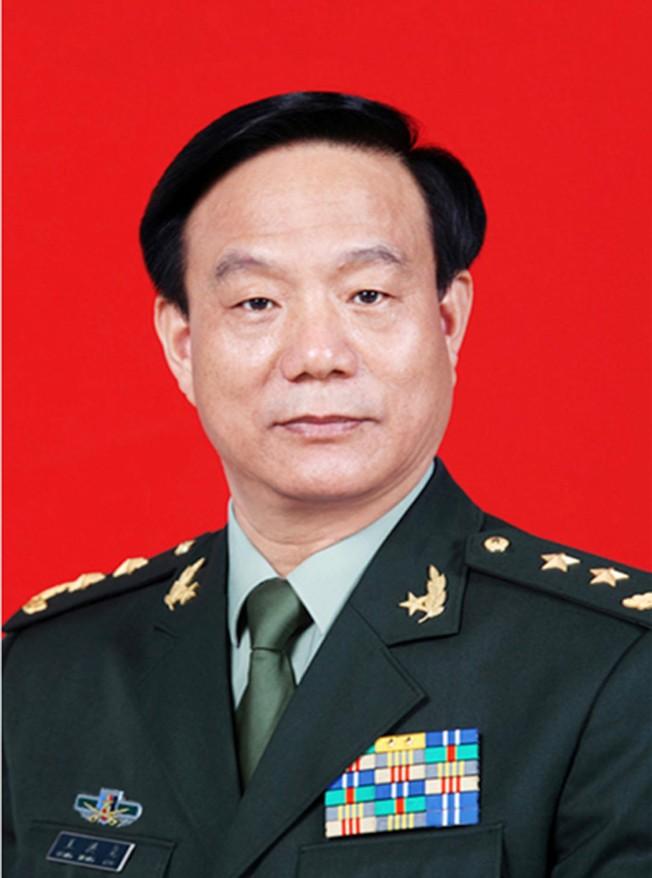 前中央军委装备发展部政委王洪尧。(中新社资料照片)
