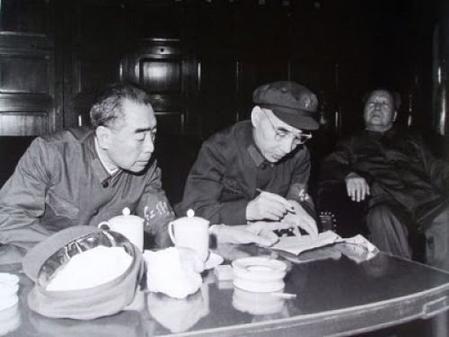 林彪周恩来毛泽东