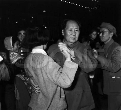 毛泽东中南海跳舞