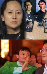 孟晚舟,马云,马化腾是间谍