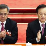 胡春华(左)和 陈敏尔(右)