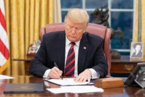 川普签署法案