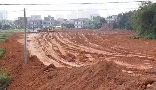 中国农地因为房地产热大量减少