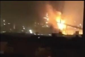 上海宝钢爆炸