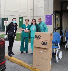 纽约华女向医院送数万口罩不留名