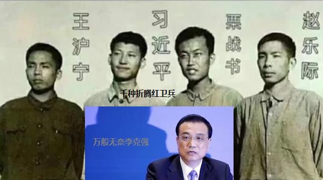 习近平栗战书王沪宁赵乐际红卫兵学院和李克强
