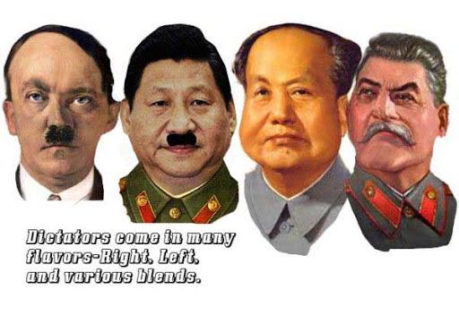 习近平毛泽东斯大林希特勒