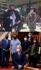 华裔女市长被逼下跪