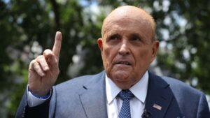 普总统的私人律师、前纽约市市长鲁迪‧朱利安尼(Rudy Giuliani)
