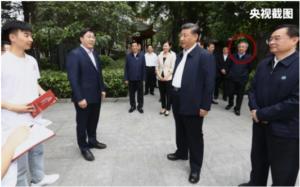 习近平周三到河南南阳考察调研,旁边的中央级官员换上了另一名副总理胡春华