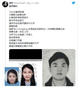 习明泽化名楚晨和其丈夫卢洪峰